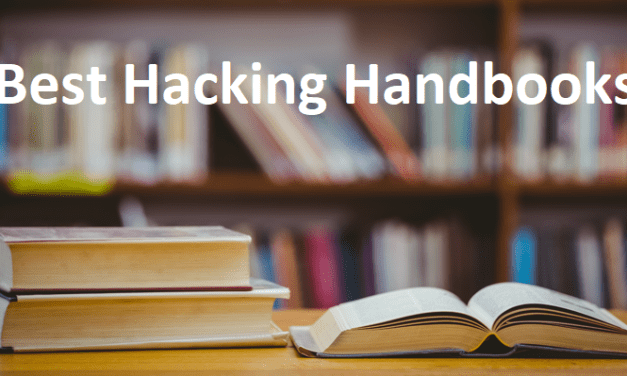 5 Best Hacking Books 2018