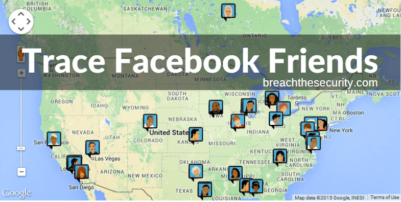 Tracing IP of Facebook Friends