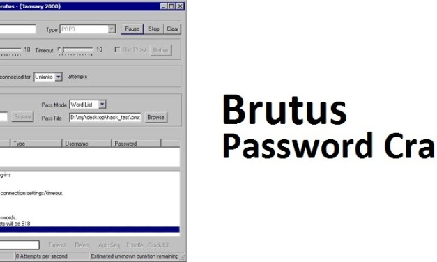 Download Brutus Password Cracker