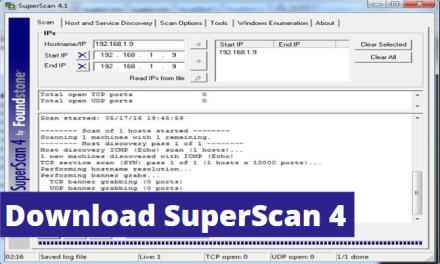 Download SuperScan 4 Free