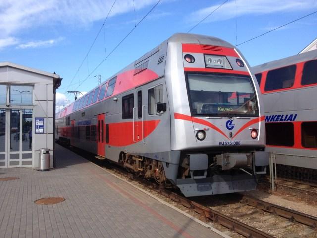 Vilnius to Kaunas
