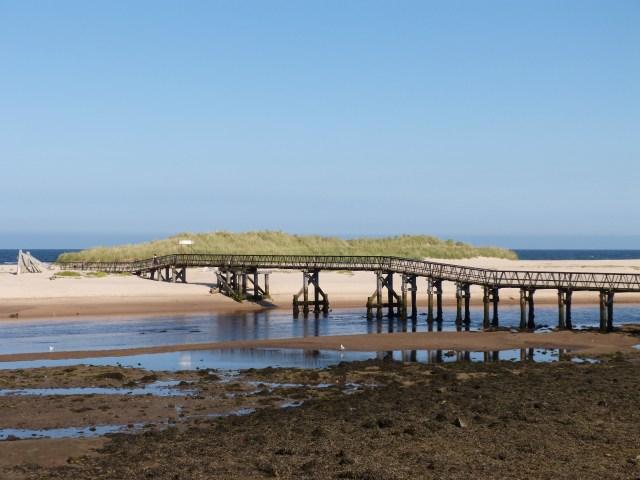 East Beach Bridge, Lossiemouth
