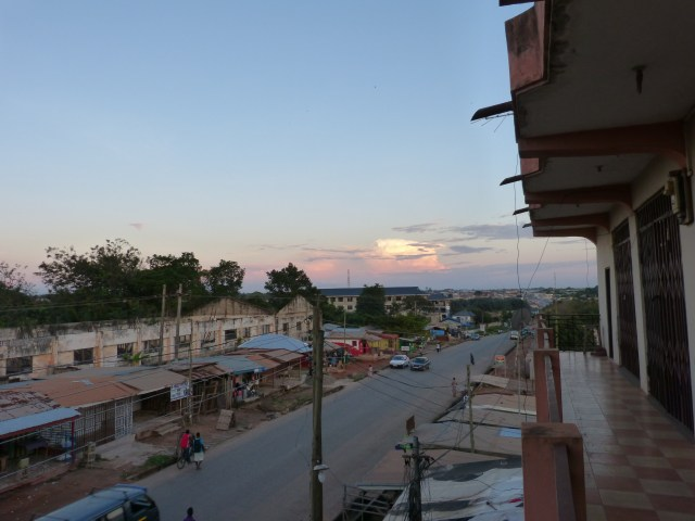Sundown at Ejisu