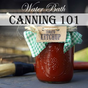 water bath canning 101