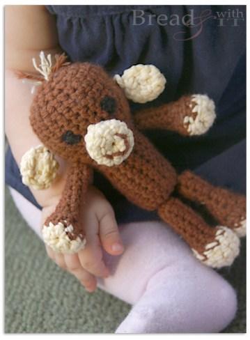 easy crochet monkey
