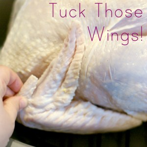 tucking turkey wings