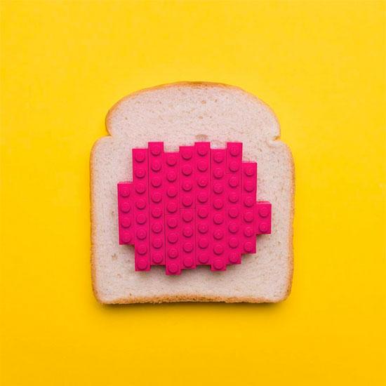 Jaime Sánchez - Sandwich with LEGO jam