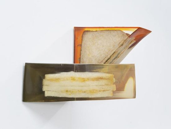 Alex Frost - Sandwiches in resin