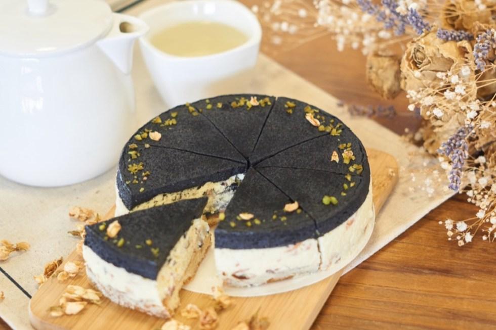 香蕉乳酪蛋糕 | 與有機香蕉同一陣線,茉莉花乳酪蛋糕