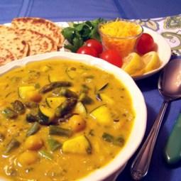 Golden Garbanzo Savory Soup
