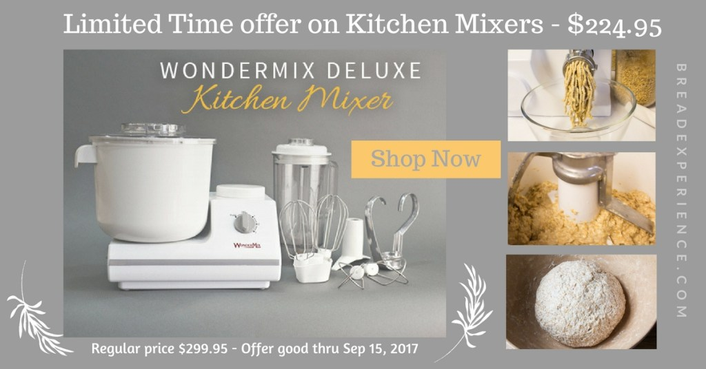 WonderMix Mixer Limited Time Offer