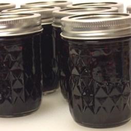 Making Jam: Blackberry Jam using pectin