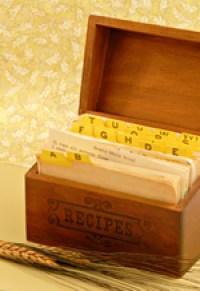 bread recipes box
