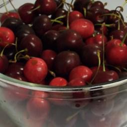 Making Jam: Cherry Preserves