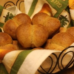 Light Wheat Bread Rolls