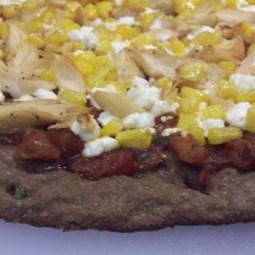 Southwestern Focaccia/Pizza using Mesquite Dough: HBinFive
