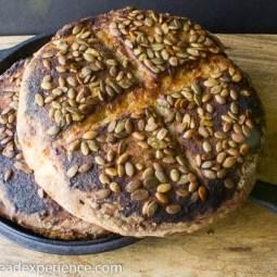 Senfbrot German Mustard Bread #ArtisanBreadBakers