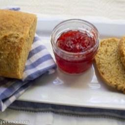 Sourdough Toasted Cornmeal Bread #SourdoughSurprises