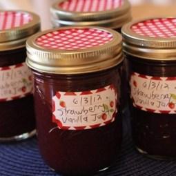 Strawberry Vanilla Jam