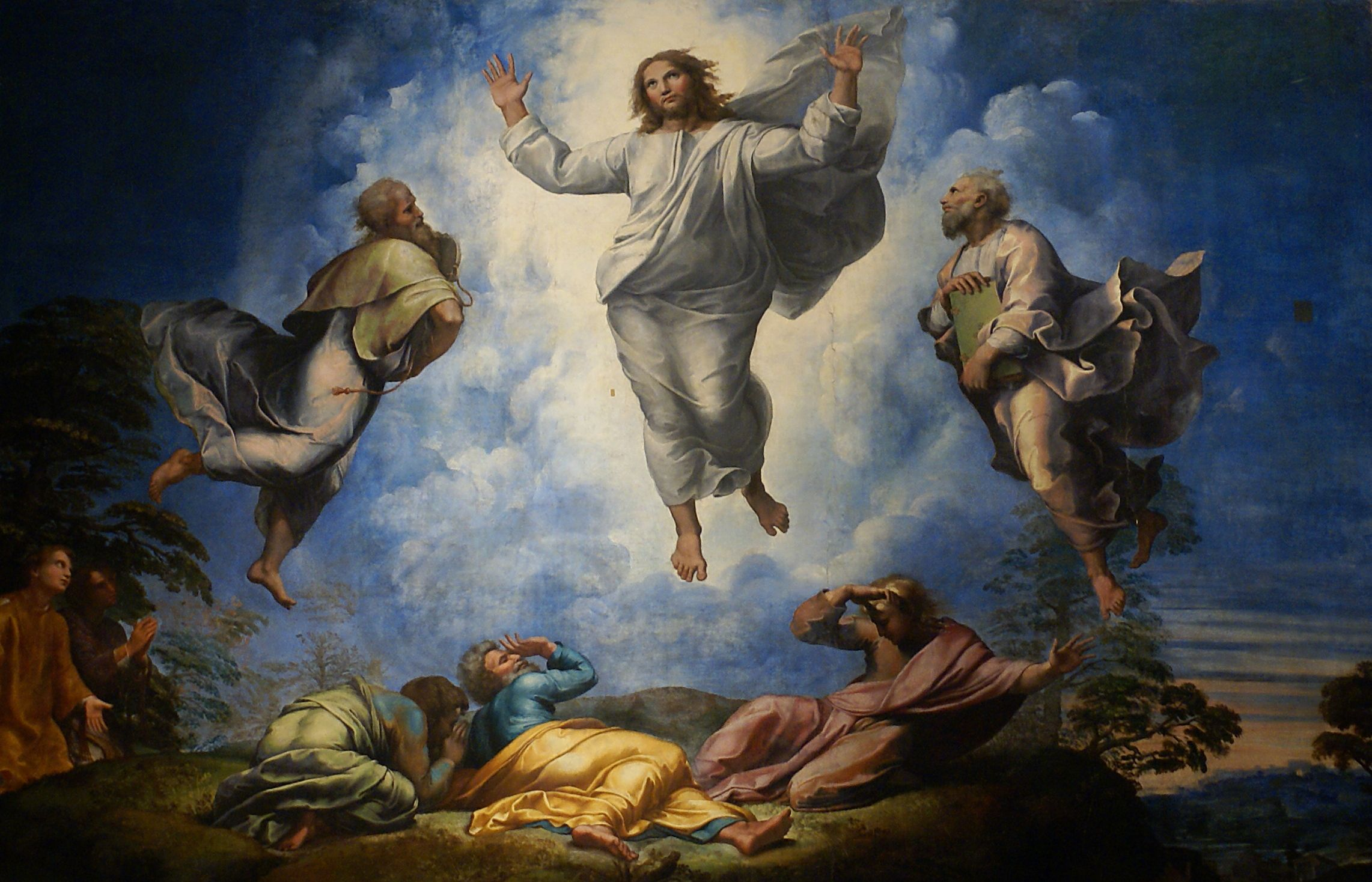Image result for transfiguration painting