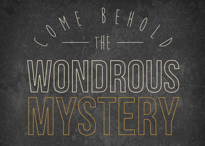 Come Behold the Wondrous Mystery a hymn for Lent - Bread for