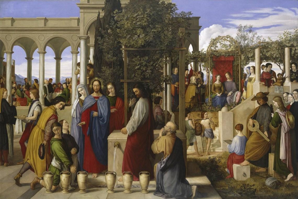 Wedding Feast At Cana.The Wedding Feast At Cana Bread For Beggars