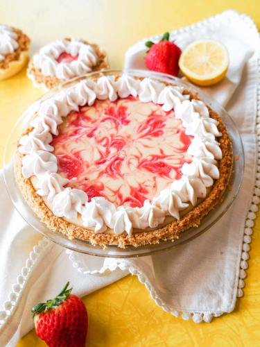Bread Lady's Strawberry Lemon Cream Pie