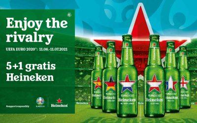 Die Heineken 5 + 1 Aktion zur EM