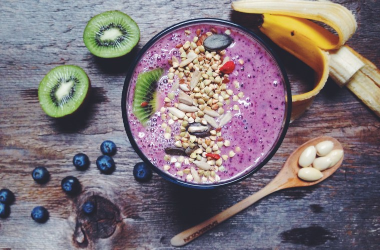 Blueberry Bliss Raw Smoothie | Breakfast Criminals
