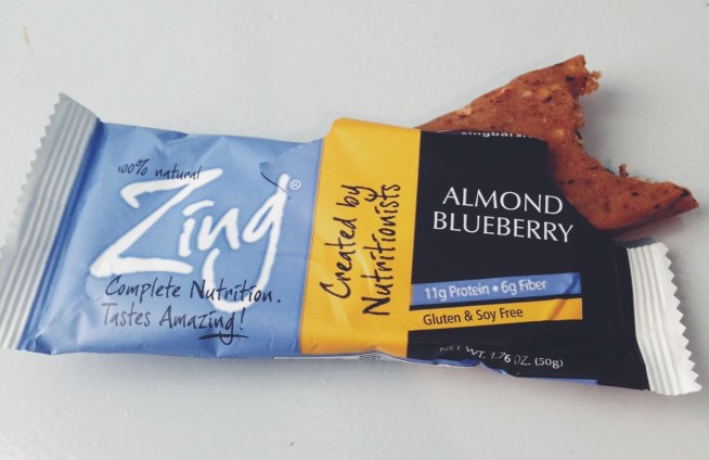 Zing nutrition bar