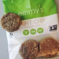 Emmy's Organics Mint Chip Raw Macaroons