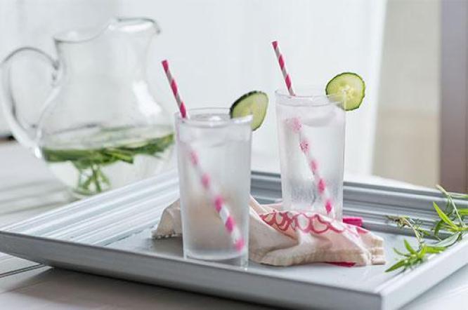 Tarragon Cucumber Spa Water recipe