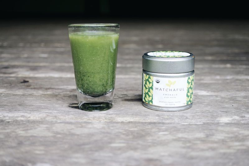 Matcha morning shot recipe