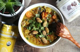 Hearty Vegetable Coconut Dhal Soup Recipe