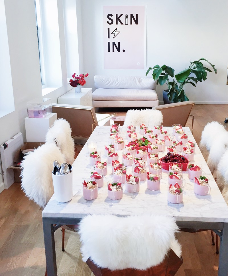 Glossier HQ Soho | Breakfast Criminals