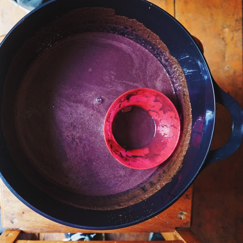 The way acai is served at an acai farmer's house | Photo: Breakfast Criminals