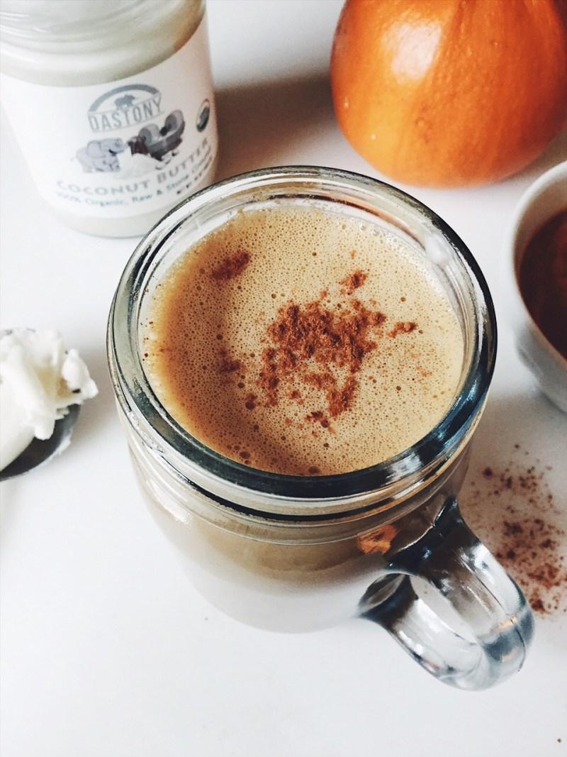 Homemade Superfood Pumpkin Spice Latte Recipe