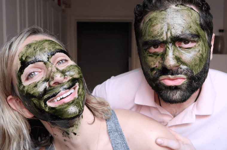 DIY Matcha Honey Face Mask