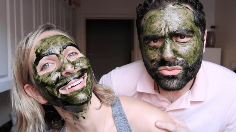 DIY Matcha Honey Face Mask