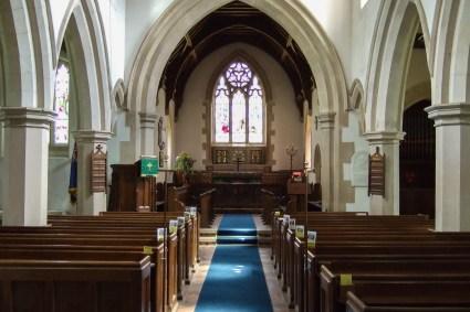 Inside Saint Nicholas Church, Great Hormead. Copyright © 2007 Gary Allman, all rights reserved.