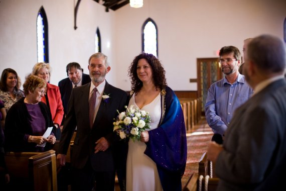 Ginger never thought she'd have the chance to be escorted down the aisle by her father. She was wrong.