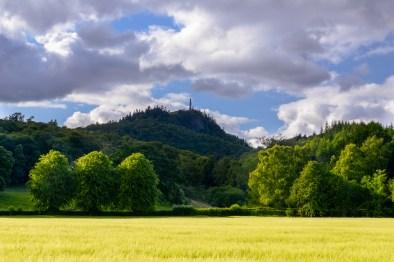 Dunmore hill and obelisk