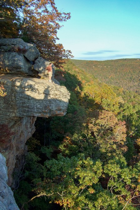 Near Hawksbill Crag (Whittaker Point), Arkansas. Copyright © 2011 Gary Allman, all rights reserved.