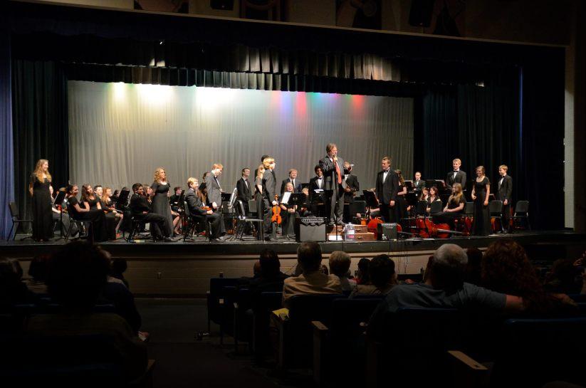 Katie's last high school orchestra concert