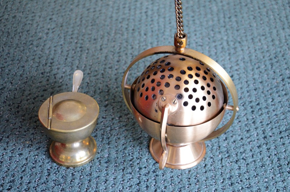 Thurible and supplies