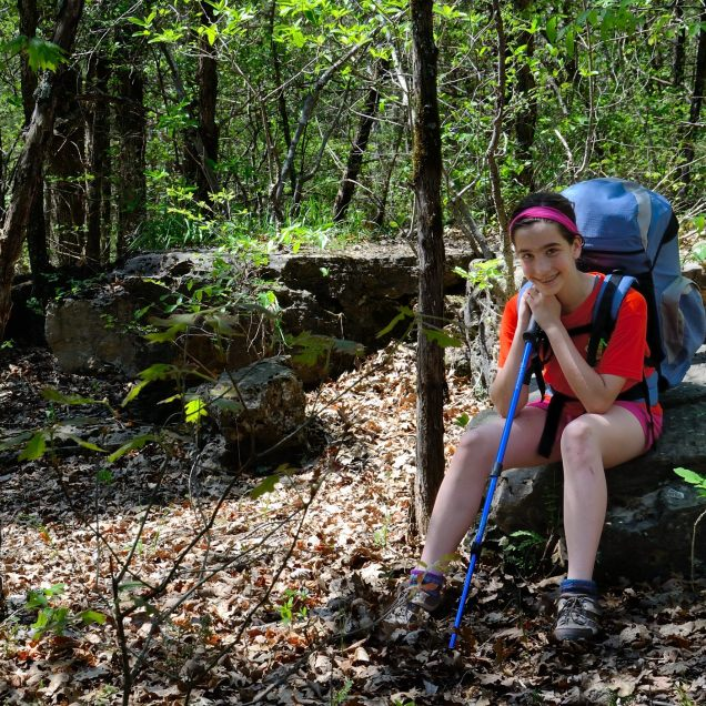 On the Old Farm Trail - Piney Creek Wilderness