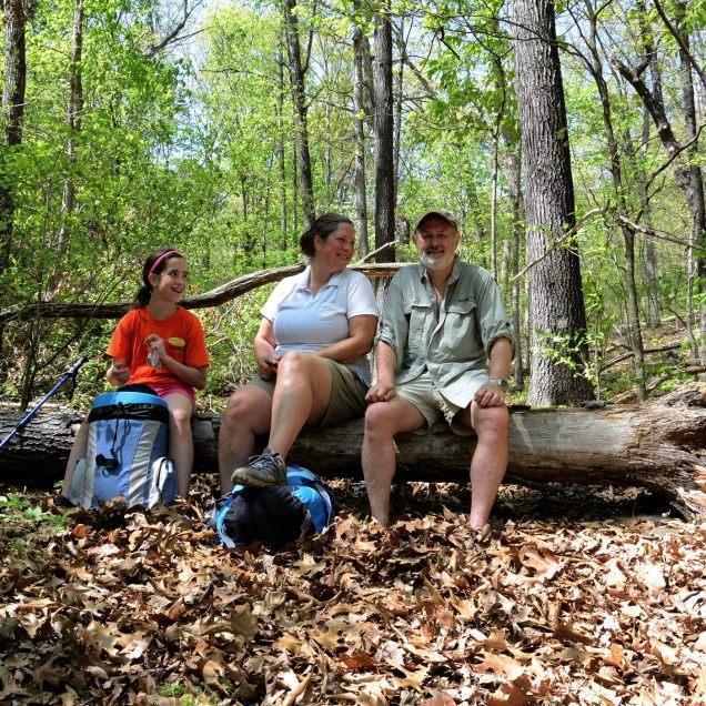 Rest stop - Piney Creek Wilderness