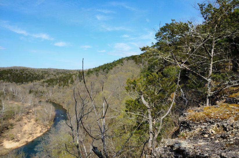 260ft. Bluff over Beaver Creek