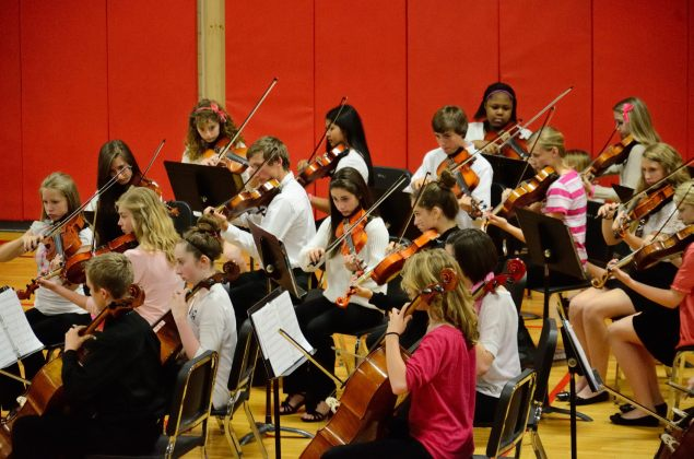 Eighth Grade Orchestra. Copyright © 2013 Gary Allman, all rights reserved.