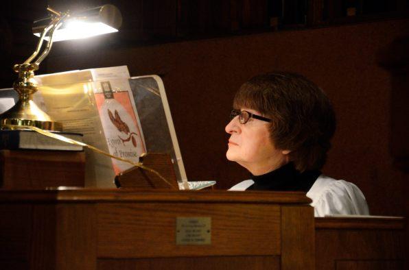 Our organist Barbara Hays